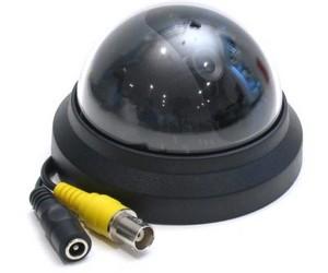 установка купольной камеры видеонаблюдения